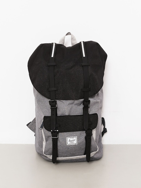Herschel Supply Co. Backpack Little America (mid grey crosshatch/black/light grey crosshatch)