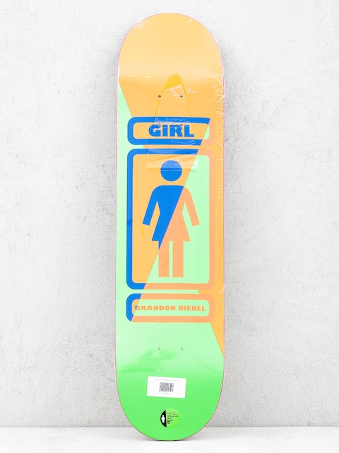 Girl Skateboard Biebel 93 Til Deck (brown/green)