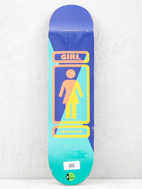Girl Skateboard Malto 93 Til Deck (navy/teal)