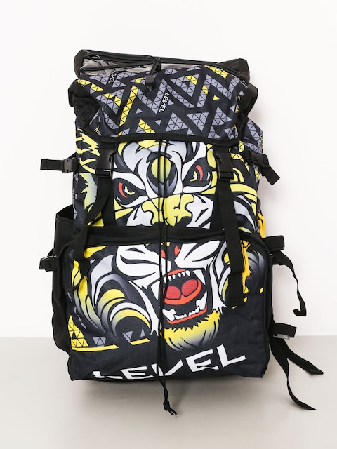 Level Ski Trainer Backpack (black yellow)