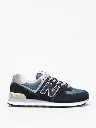 New Balance 574 Shoes (dark navy)