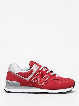 New Balance 574 Shoes (team red)
