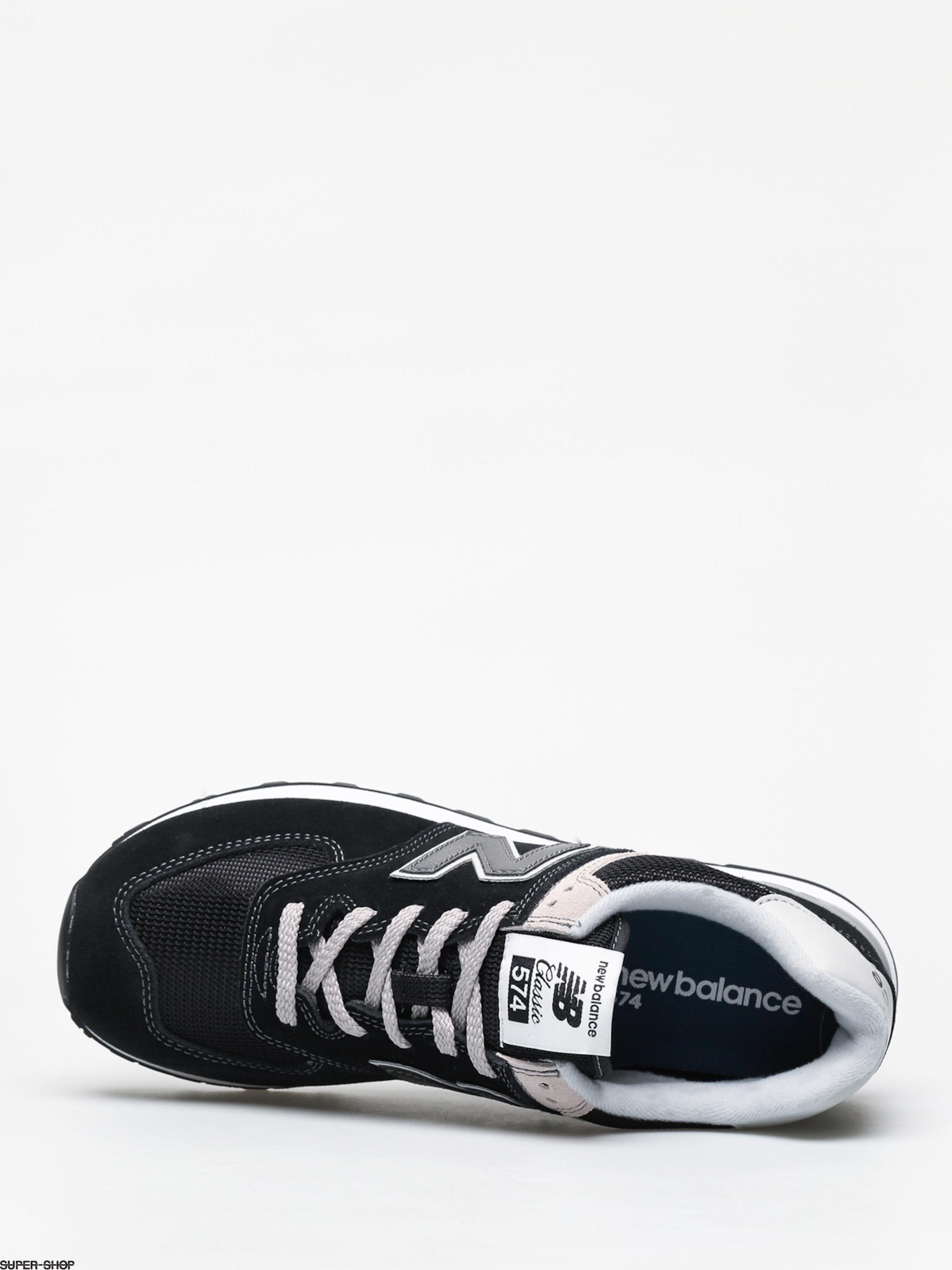 d417a5db6 New Balance 574 Shoes (black)