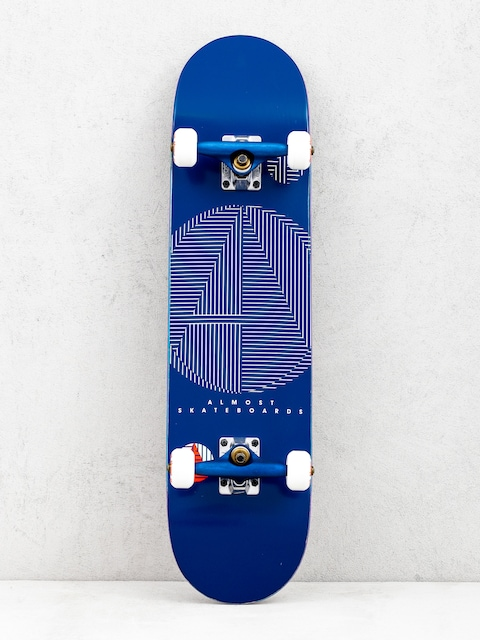 Almost A Plus Resin Skateboard (navy)