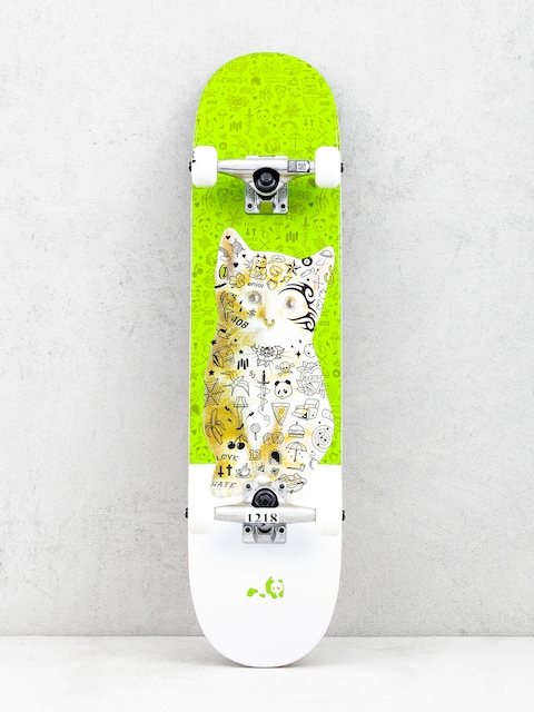 Enjoi Kitten Skateboard (green)