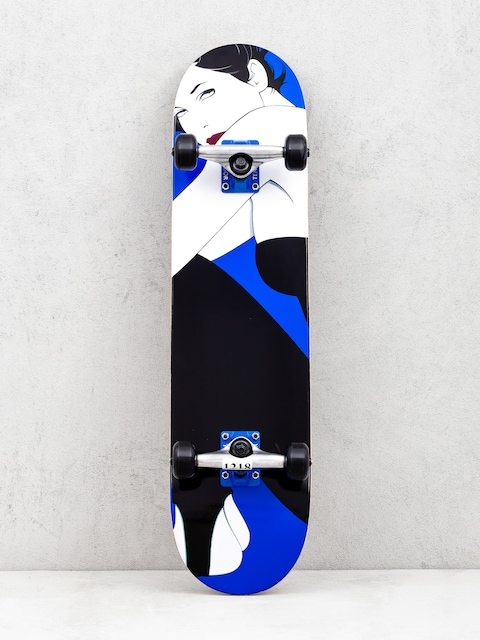 Darkstar Full Nagel Resin Skateboard (blue/white/black)