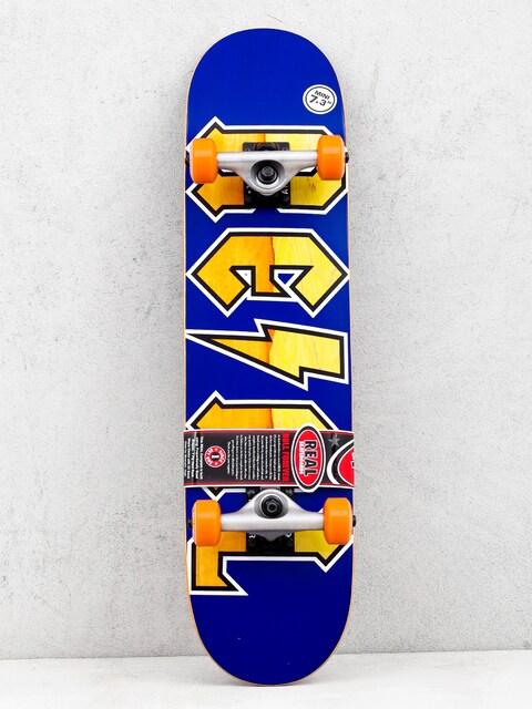 Real New Deeds Mini Skateboard (navy)
