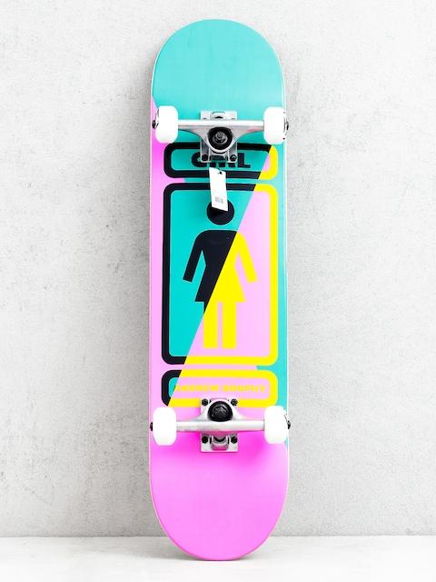 Girl Skateboard Brophy 93 Til Skateboard (pink/green)