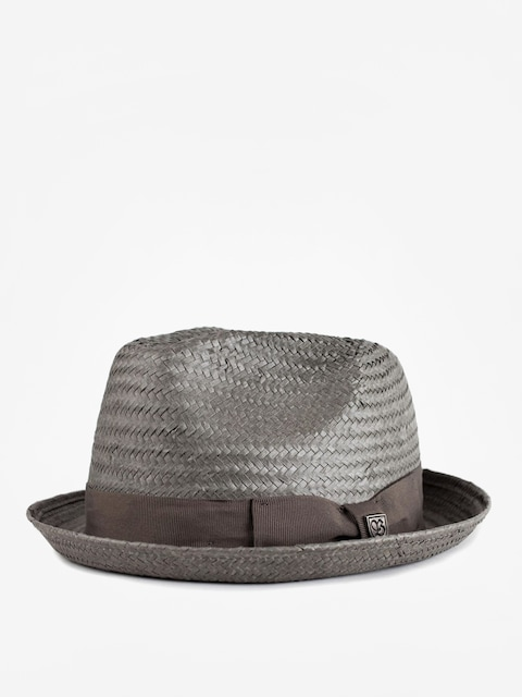 Brixton Castor Fedora Hat (grey)