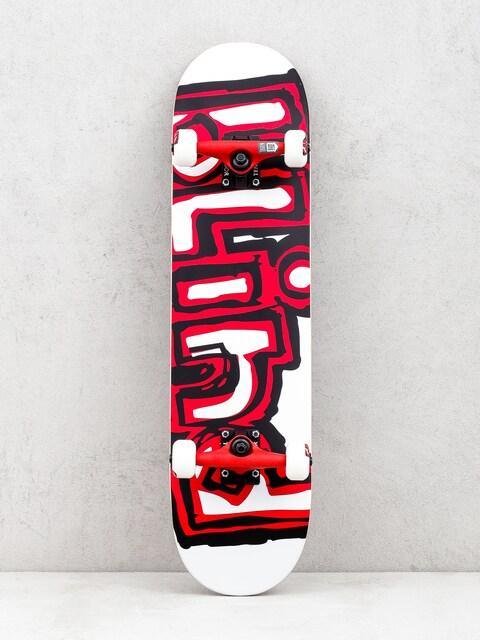 Blind Matte Og Logo Skateboard (white/red)
