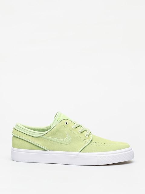 Nike SB Zoom Stefan Janoski Shoes (barely volt/barely volt white)