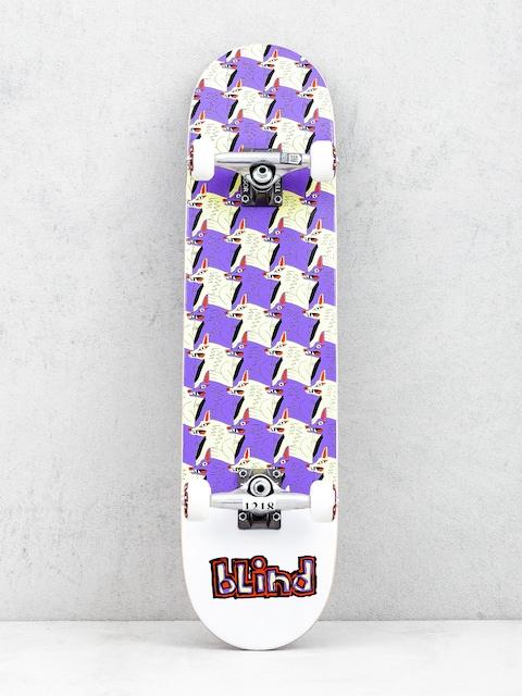 Blind Tyle Style Skateboard (purple/yellow)