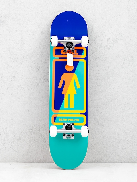 Girl Skateboard Malto 93 Til Skateboard (navy/teal)