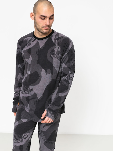 ThirtyTwo Ridelite Baselayer Ls Active longsleeve (black/camo)