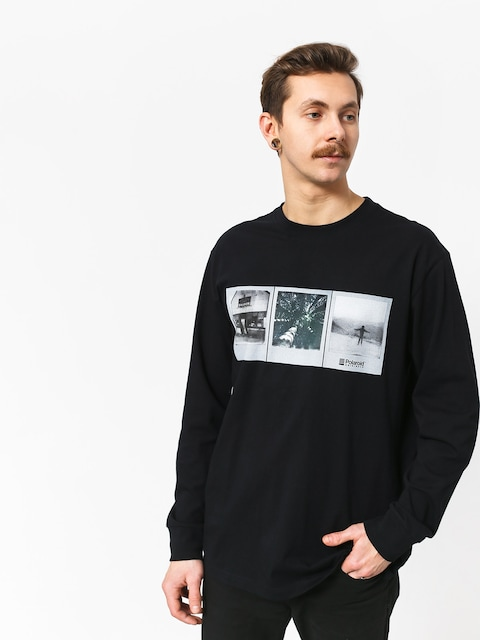 Element Brandon Westgate Longsleeve (flint black)
