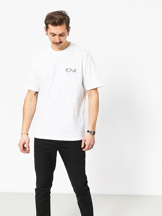 Polar Skate Torsten Fill Logo T-shirt (white)