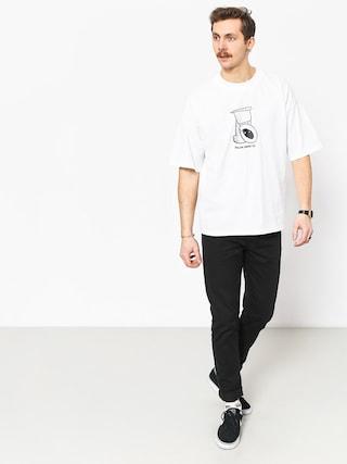 Polar Skate Toilet Surf T-shirt (white)
