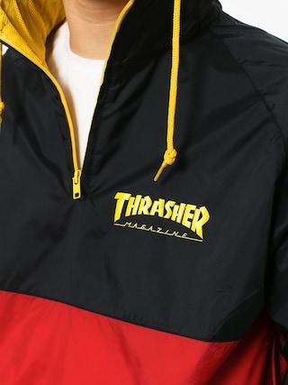 Thrasher Jacket Mag Logo Anorak (black red)