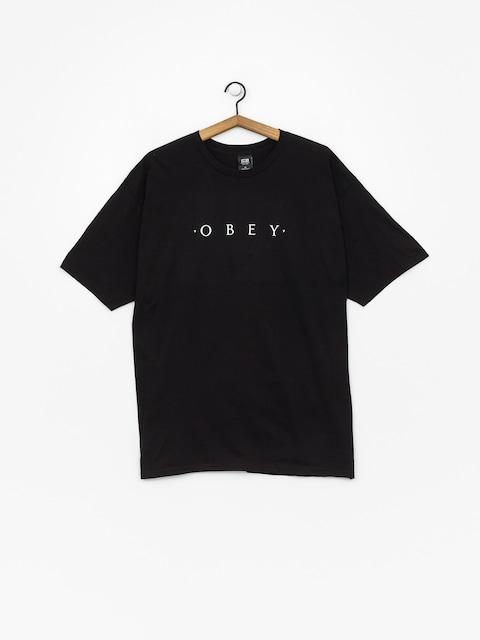 OBEY Novel T-shirt (black)
