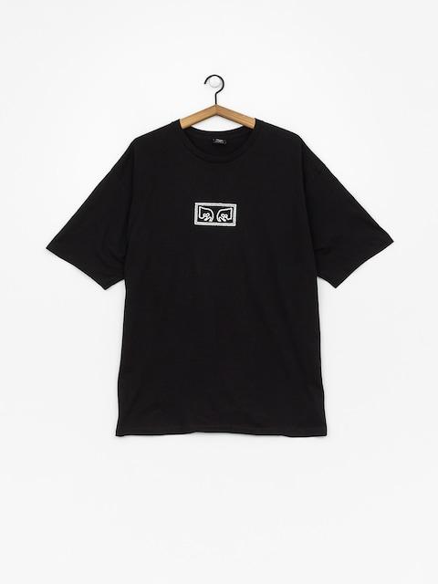 OBEY Obey Jumbled Eyes T-shirt (black)