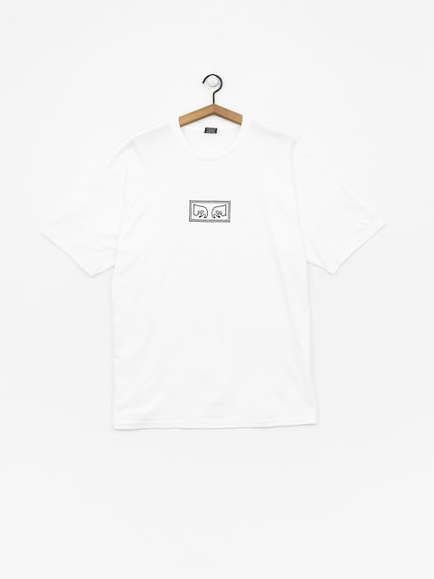 OBEY Obey Jumbled Eyes T-shirt (white)