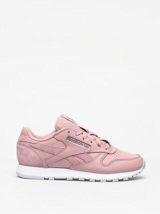 Reebok Cl Lthr Shoes Wmn (smoky rose/cold grey)