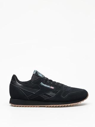 Reebok Cl Leather Mu Shoes (black/mineral mist/l)
