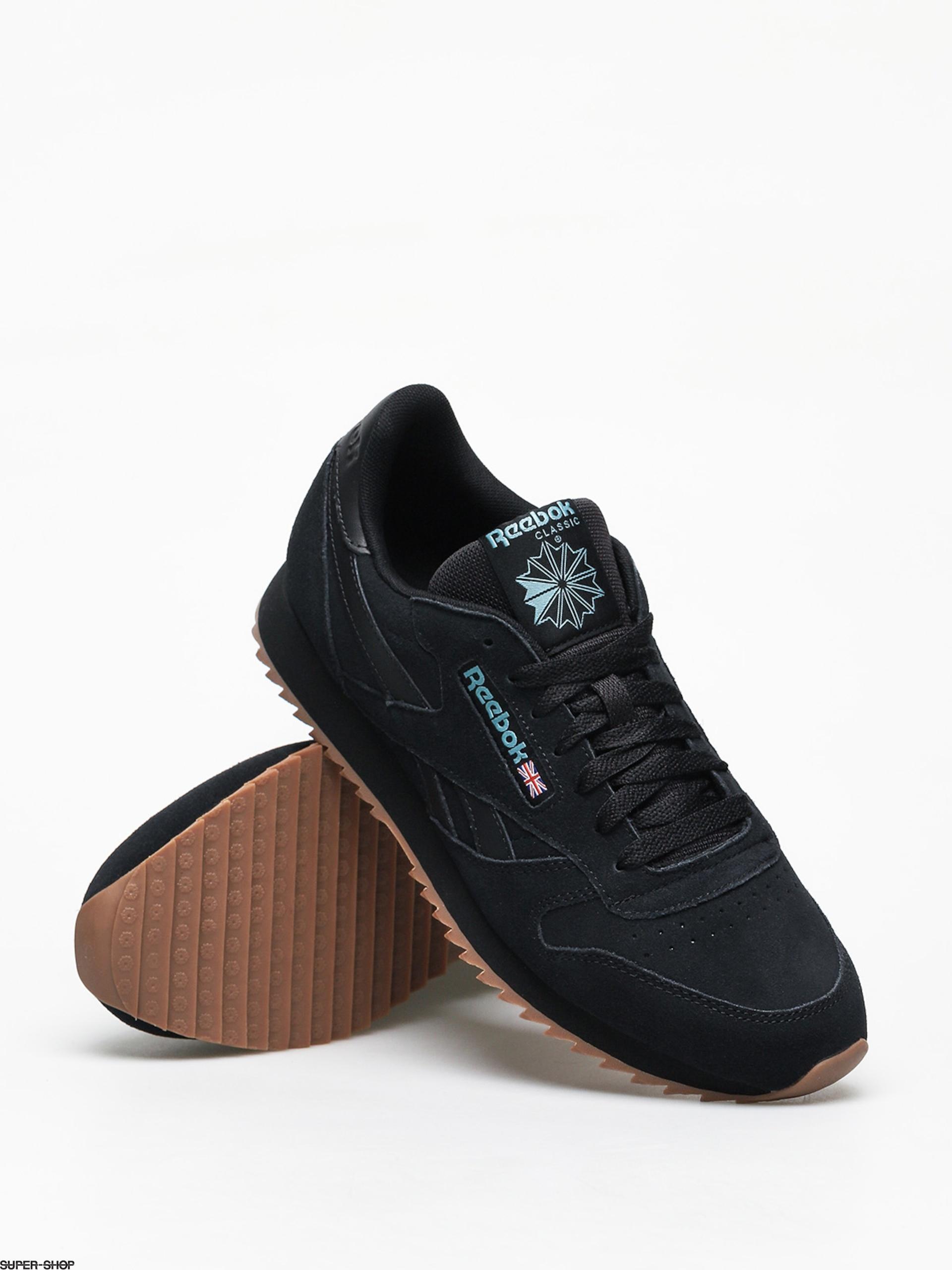 Reebok Cl Leather Mu Shoes (black