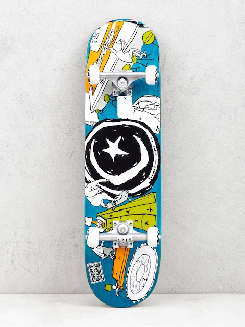Foundation Star And Moon At Home Skateboard