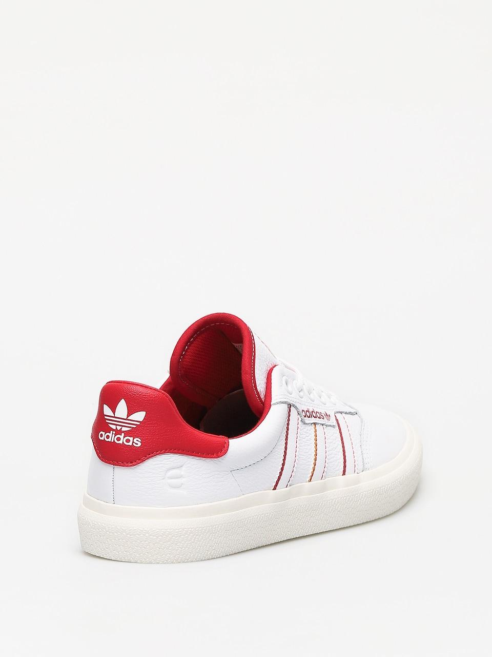 calidad real original de costura caliente mitad de descuento adidas 3Mc X Evisen Shoes (ftwwht/scarle/goldmt)