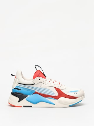 Puma Rs X Reinvention Shoes (whisper white/red blast)