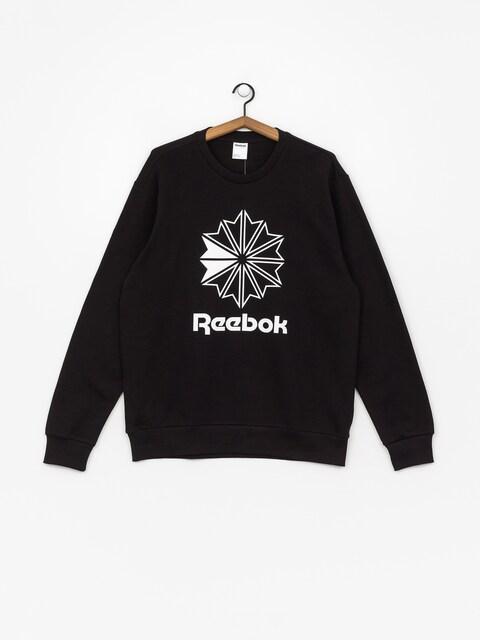 Reebok Ac Ft Big Starcrest Crew Sweatshirt (black/white)