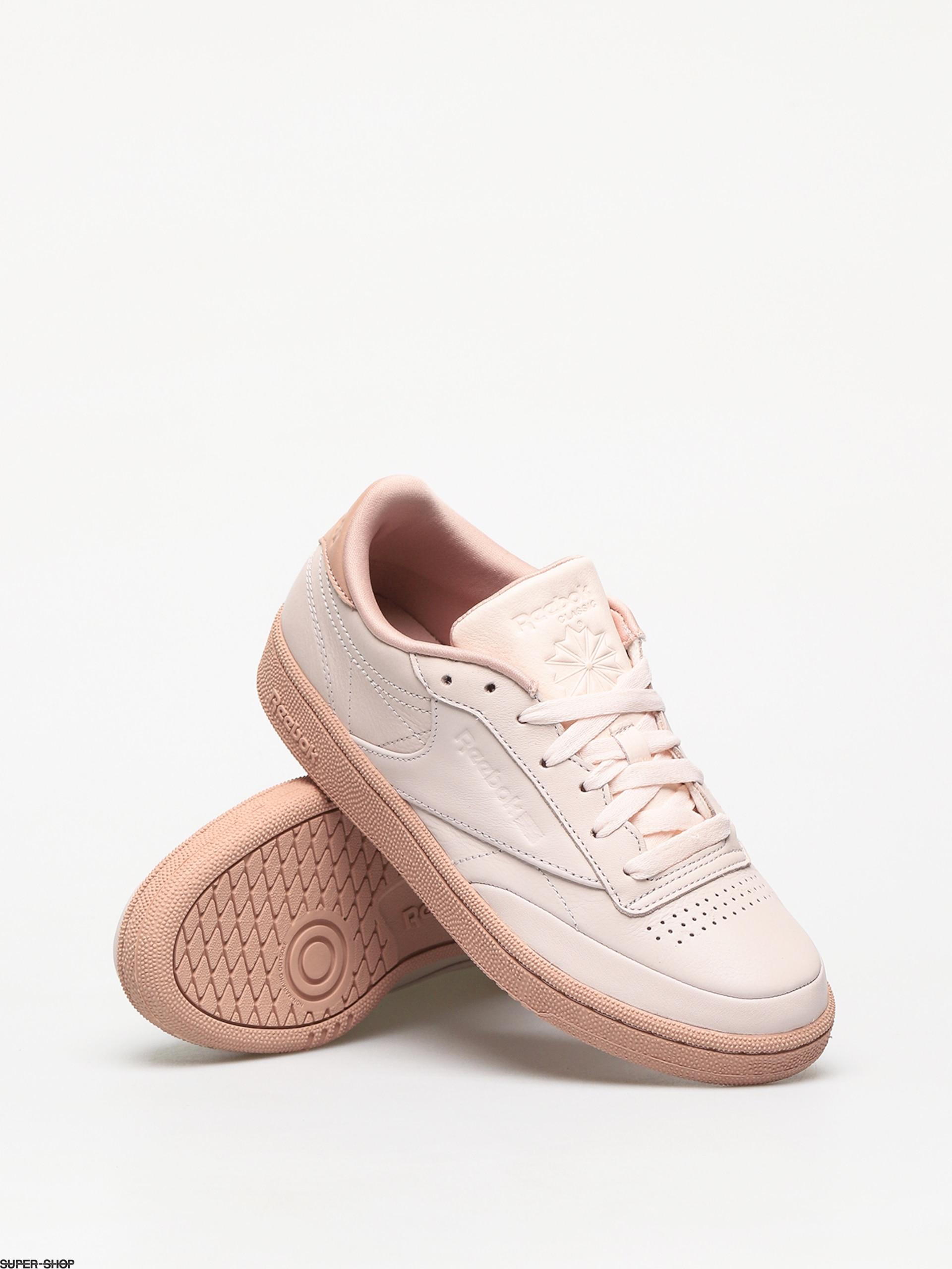 Reebok Club C 85 Shoes Wmn (pale pink