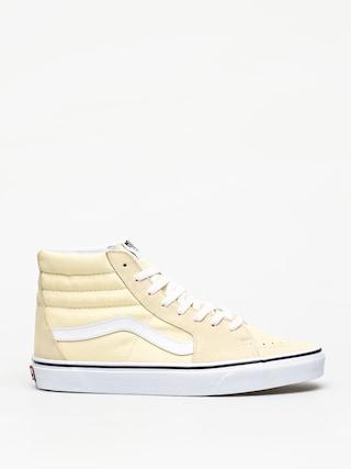Vans Sk8 Hi Shoes (vanilla custard)