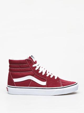 Vans Sk8 Hi Shoes (rumba red/true white)