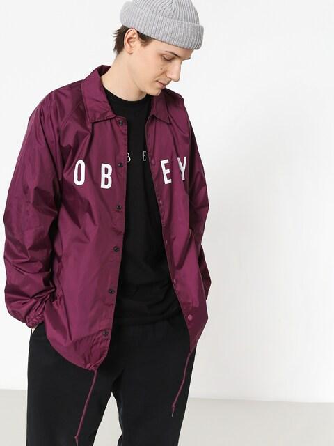 OBEY Anyway Jacket (raspberry)