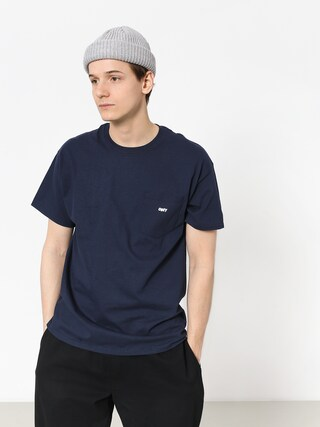 OBEY Obey Jumbled T-shirt (navy)