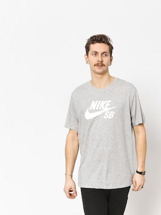Nike SB Sb Dri Fit T-shirt (dk grey heather/white)