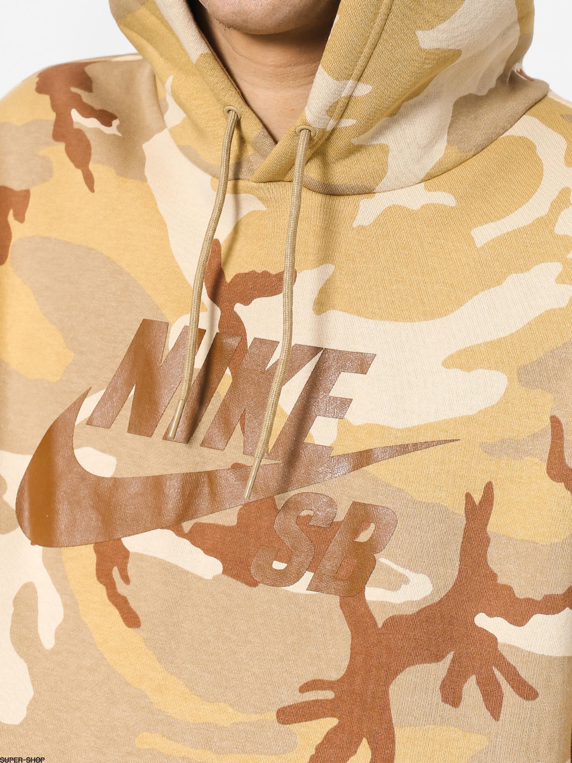 3d4fd626d2d02 Nike SB Sb Icon Erdl HD Hoodie (desert ore parachute beige ale brown)