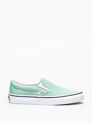 Vans Classic Slip On Shoes (neptune green)