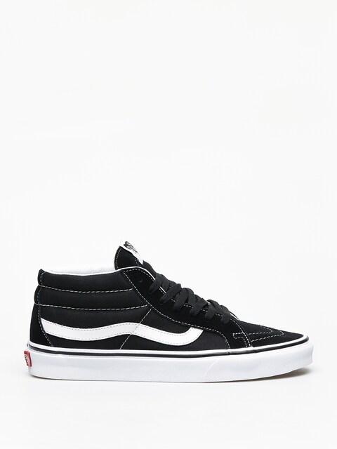 Vans Sk8 Mid Reissue Shoes (black/true white)