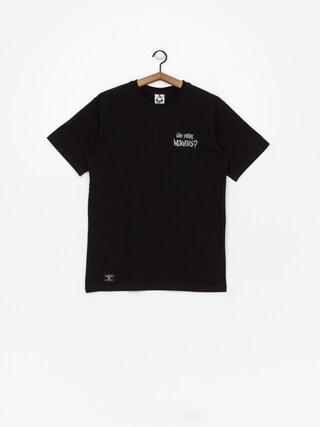 Nervous Sigil Racoon T-shirt (black)