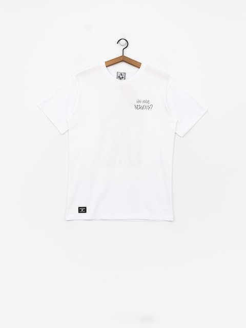 Nervous Sigil Racoon T-shirt (white)
