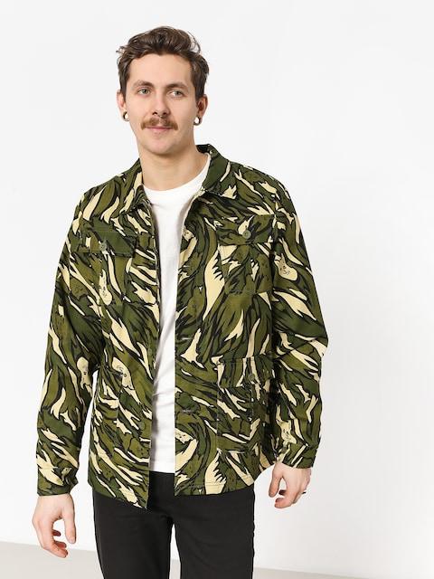 RipNDip Tiger Nerm Ripstop Work Jacket (green camo)