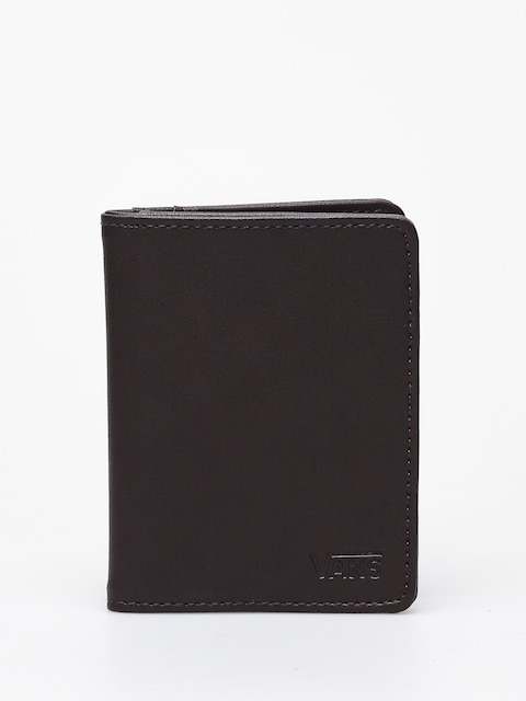 Vans Drop V Card Holder Wallet (dark brown)