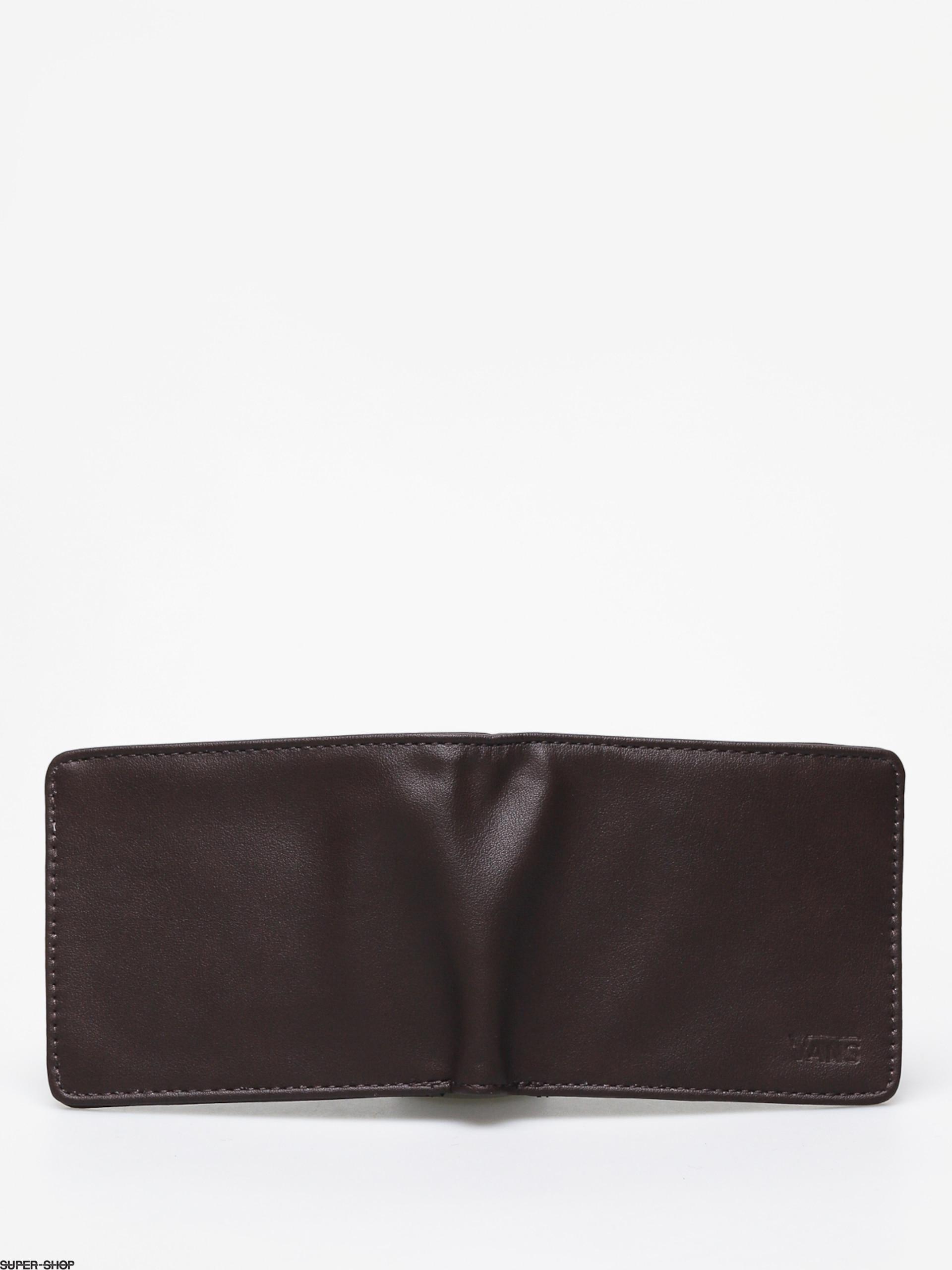 12522940720032 Vans Drop V Bifold Wallet (dark brown)