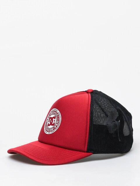 DC Vested Up Cap (pomegrenate)