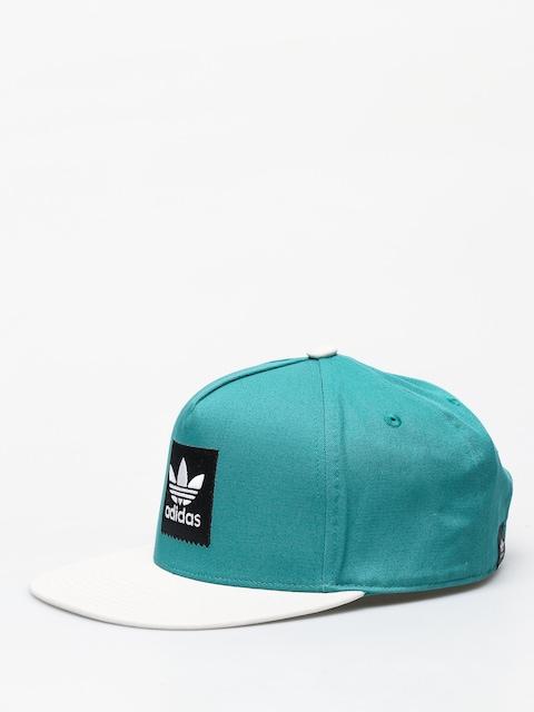 adidas 2Tone Snapback Cap (actgrn/rawwht)