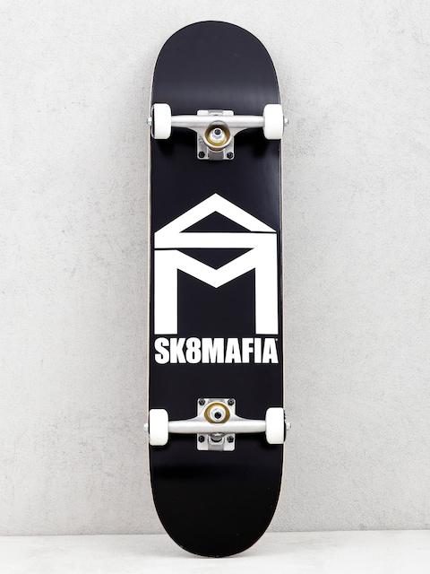 Sk8Mafia House Logo Skateboard (black)