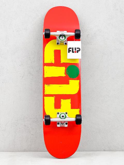 Flip Odyssey Skateboard (stroekd red)